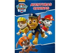 Livro PAW Patrol Aventuras Caninas