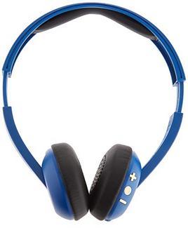 Auscultadores Bluetooth SKULLCANDY UpRoar (On Ear – Microfone – Azul)