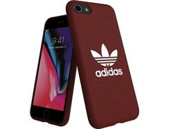 Capa iPhone 6, 6s, 7, 8 ADIDAS Moulded Canvas Castanho