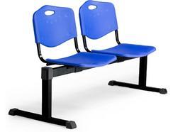 Bloco 2 CadeiraPYC Cenizate PVC Azul