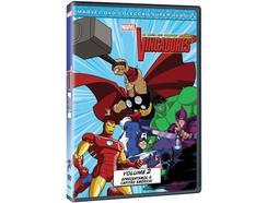 DVD Os Vingadores Vol.2 – Os Heróis mais Poderosos da Terra