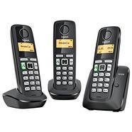 Trio telefones Sem fio GIGASET A220 Preto