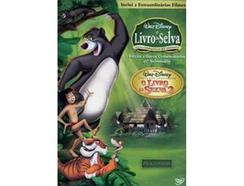 DVD Pack Livro da Selva Edição Especial +Livro Selva 2