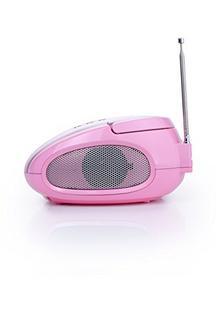 Rádio Portátil AUDIOSONIC RD1566 Rosa