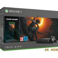 Consola Xbox One X 1 TB + Tomb Raider