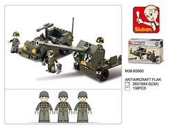 Construção Tanque SLUBAN Verde Army