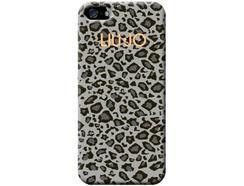 Capa LIU.JO Soft Case iPhone 5, 5s, SE Cinzento