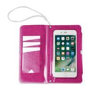 Capa Celly SplashWallet para Smartphones até 6 2 – Rosa