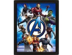 POSTER 3D Avengers Endgame
