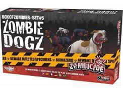 Jogo de Tabuleiro Zombicide: Zombie Dogz (M13 – Nível Dificuldade: Intermédio)