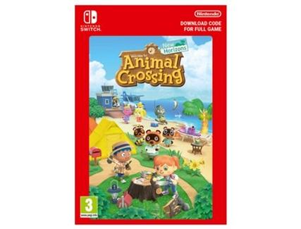 Jogo Nintendo Switch Animal Crossing: New Horizons (Formato Digital)