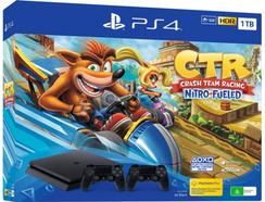 Consola PS4 1TB Crash Team Racing + 2º Comando DS4