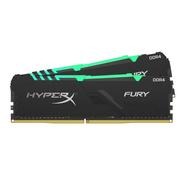 Memória RAM DDR4 KINGSTON HyperX Fury (2 x 16 GB – 2666 MHz – CL 16 – RGB)