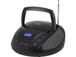 Rádio Stereo SMARTWARES CD-1665 Preto