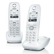 TELEFONE SEM FIOS GIGASET AS405 DUO BR