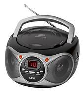 Rádio Portátil AEG SR 4351 (Preto – Analógico – FM – Corrente)