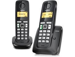 Gigaset Telefone sem Fios DECT A220 Duo