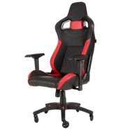 Cadeira Gaming Corsair T1 RACE 2018 Preta/Vermelha