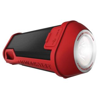 COLUNA BLUETOOTH MONSTER FIRE+PBA RED