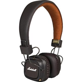Auscultadores Bluetooth Marshall Major II Castanho