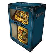 Conjunto Caneca + Base de copo + Porta-chaves Harry Potter – rather be at hog Gift Box