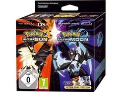 Jogo Nintendo 3DS Pokémon Ultra Sun + Pokémon Ultra Moon (Edição Dupla)