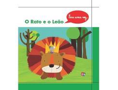Livro Era Uma Vez 'O Rato E O Leão' de Ana Oom