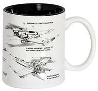 Caneca STAR WARS Branca X-Wing