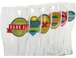 Conjunto 6 copos Cerveja ITEM Cristal