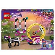 Mundo de Magia: Acrobacia Parque de Diversões de Brinquedos para Meninos e Meninas +6 Anos com Mini Bonecas LEGO Friends