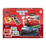 SuperPack 4 em 1 Cars 3 Disney