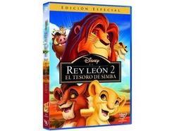 DVD El Rey Leon 2 El Tesoro De Simba (Edição em Espanhol)