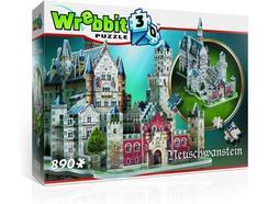 Puzzle 3D WREBBIT Castelo Neuschwanstein