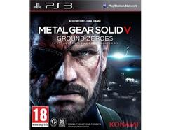 Jogo PS3 Metal Gear Solid V: Ground Zeroes