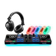 Kit Controlador DJ HERCULES DJ Party Set