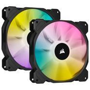 Corsair iCUE SP140 RGB ELITE Performance 140mm PWM Dual Fan Kit iCUE Lighting Node CORE