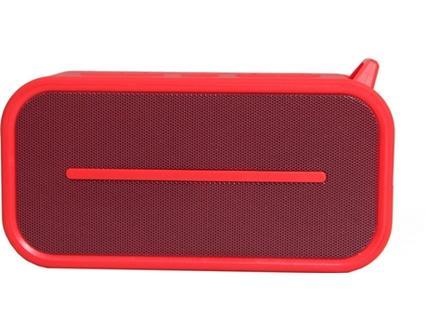 Coluna Bluetooth GOODIS IPX5 2X3W Vermelho