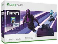Consola Xbox One S 1TB Roxa + Fortnite Battle Royale Special Edition