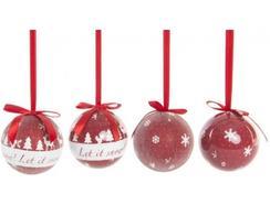 Conjunto 7 Bolas de Árvore Natal ITEM NV-141143