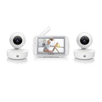 Motorola MBP50A-2 Twin Video Baby Monitor