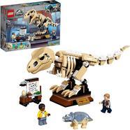 LEGO Exposição Jurássica Mundial de Dinossauros Fósseis T. rex