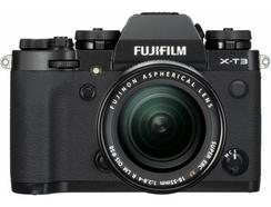 Kit Máquina Fotográfica Mirrorless FUJIFILM X-T3 + XF18-55mm + XF55-200mm (Preto – 26.1 MP – Sensor: APS-C – ISO: 80 – 51200