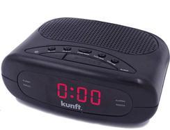 Rádio Despertador KUNFT KTCR3848 Preto