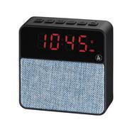 Rádio Despertador HAMA 173169 (Azul – Digital – Função Snooze – Pilhas e Corrente)