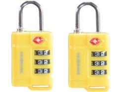 Cadeados com código TSA SAMSONITE em Amarelo