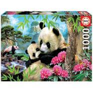 Puzzle Ursos Panda 1000 peças Educa