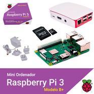 Kit Raspberry Pi 3 Modelo B+ 32GB Noobs+Caixa+Carregador Branco