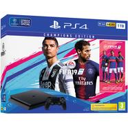 Consola PS4 Slim de 1 TB + FIFA 19 Champions Edition + 14 Dias PS Plus