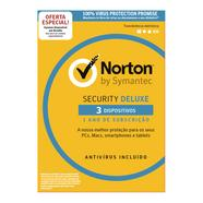 Cartão Norton by Symantec Security Deluxe