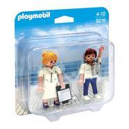 Playmobil Family Fun : Duo Pack Hospedeira e Piloto